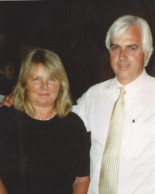 Susan Klaus and Bob Baffert Hall of Fame Horse Trainer